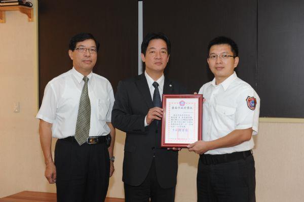 市長頒發十大傑出救護技術員