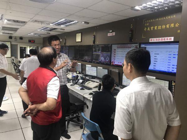 1090714局長視察數位通報系統1