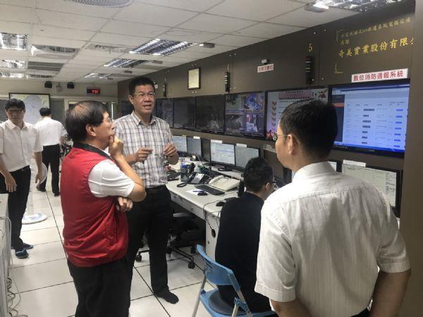 1090714局長視察數位通報系統3