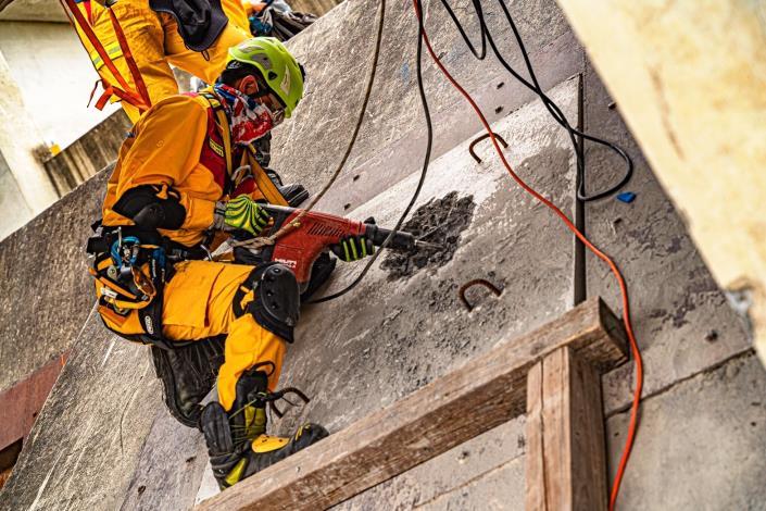 特搜不簡單連續28小時模擬救援訓練照片3