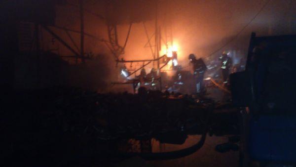 工廠火警照片