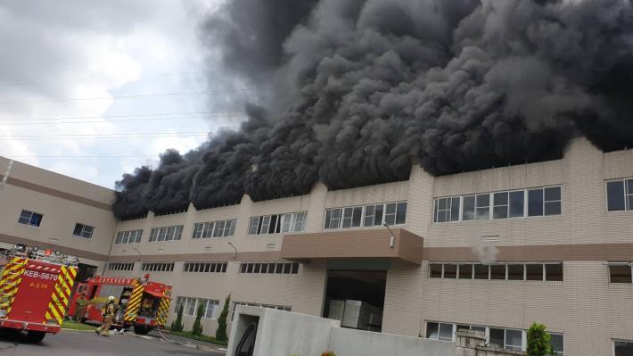 7月2日台南市山上區明和里北勢洲29-29號工廠火警-2
