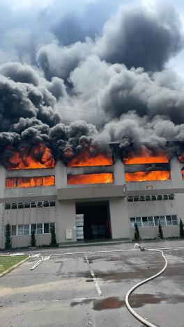 7月2日台南市山上區明和里北勢洲29-29號工廠火警-4
