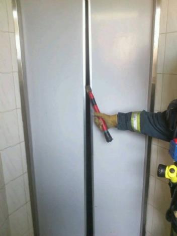 電梯受困搶救