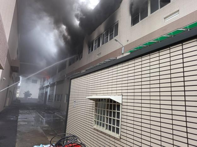 7月2日台南市山上區明和里北勢洲29-29號工廠火警-3