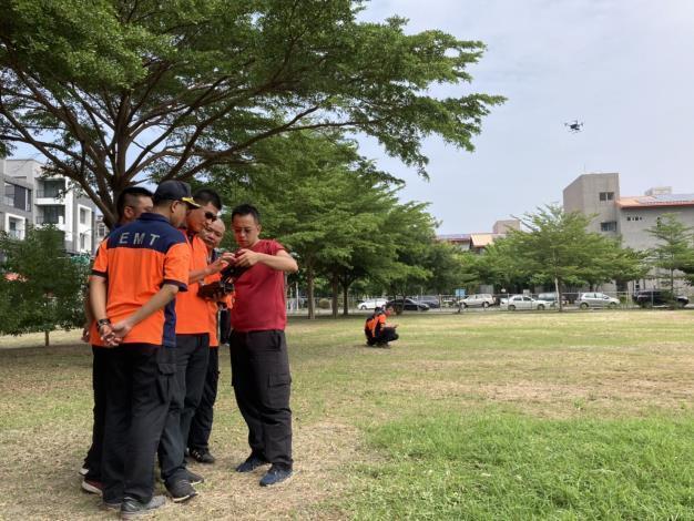 1090925虛實間落實平時訓練 成就無人機精準搜救-訓練3