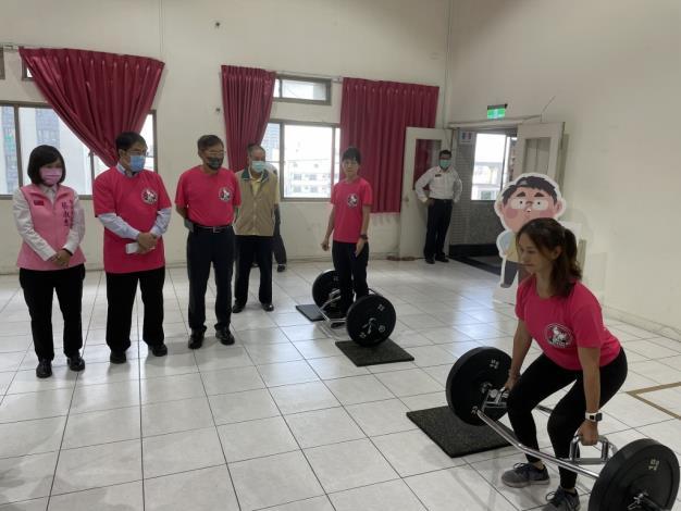 1091123充實肌力訓練器材,肌力體能教官團成軍儀式1