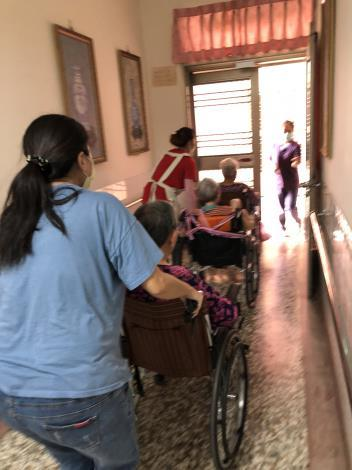 1090924安養中心找合法立案,避免事故發生,讓受照顧者及家屬安心(自衛編組演練4)