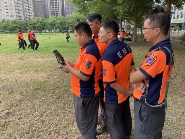 1090925虛實間落實平時訓練 成就無人機精準搜救-訓練4