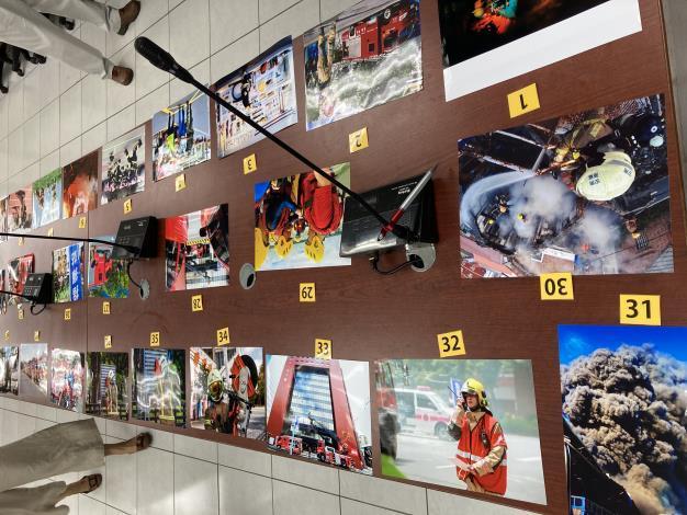 1090817南市消「火速逆行者」攝影比賽,得獎作品出爐1