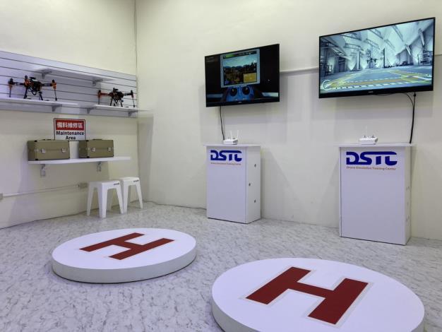 1090819臺南消防局無人機運用領先全國 首座無人機模擬訓練中心Drone Simulation Training Center(DSTC)啟用3