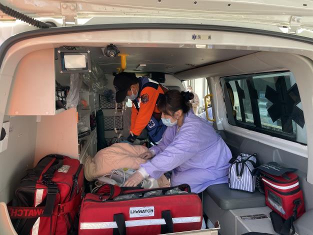 消防局119救護車原車後送