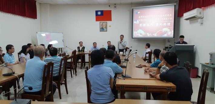 1080916王局長嘉勉臺灣菸酒公司臺南營業處與工會簽訂團體協約