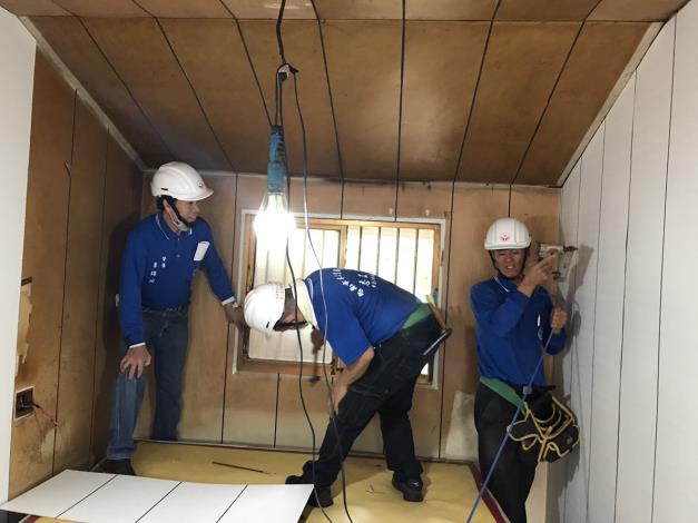 6台南市木工業職業工會施工中