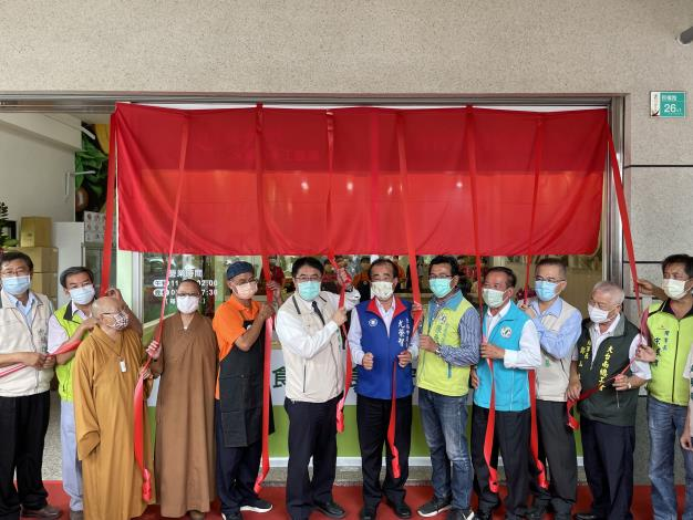 菩提澄園庇護工場揭牌儀式1