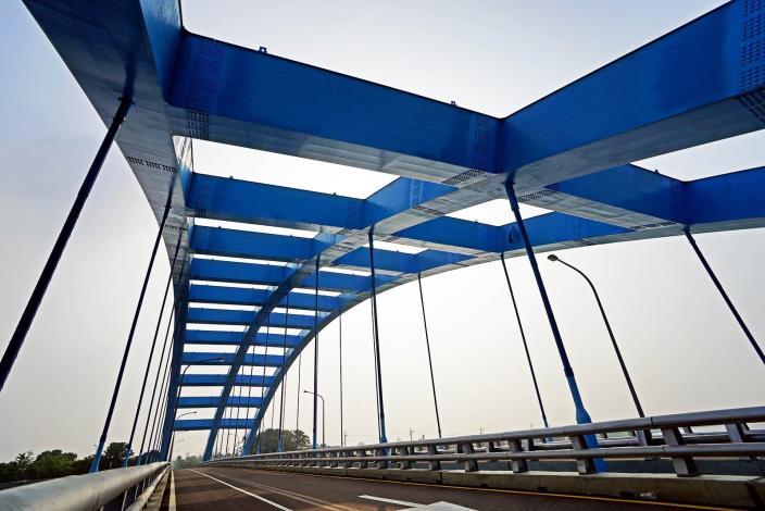 over Jiangjun River