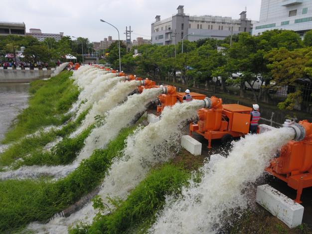 抽水機運作照片