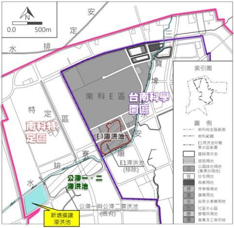 公滯1、2滯洪池計畫示意圖.JPG