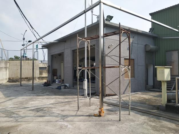 臺南市北門區抽水站老舊發電機組更新完工 確保颱風季供電無虞(共4張)-1