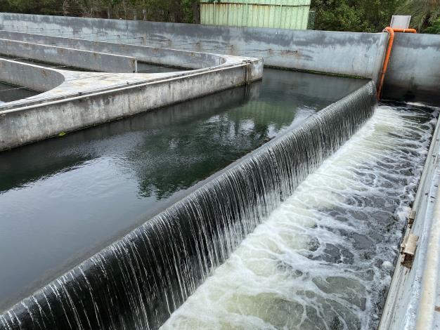 安平水資中心放流水