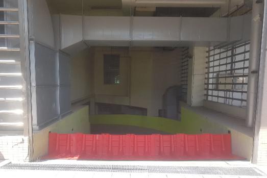 防水擋板地下室入口