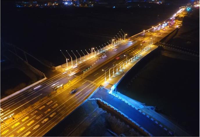 台17線海尾橋改建工程夜景.JPG