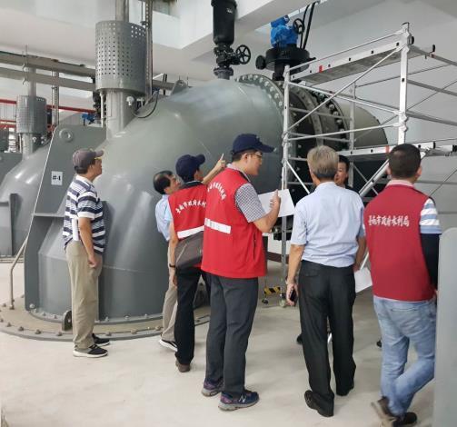 永康抽水站抽水機更新工程(二)-機電工程
