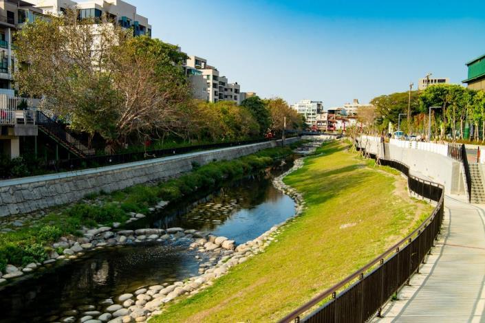 竹溪流域周邊景觀改善計畫-河岸周邊景觀改造工程