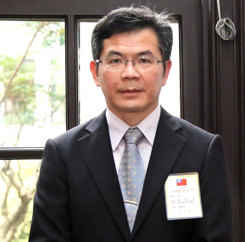 臺南市動物防疫保護處處長 吳名彬