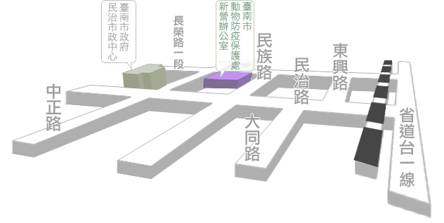 新營辦公室地圖圖示