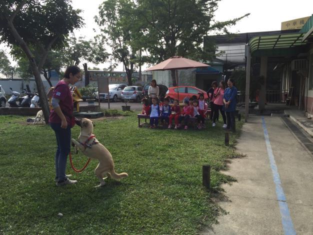 圖四、民眾到動物之家參訪及學生進行校外教學情形