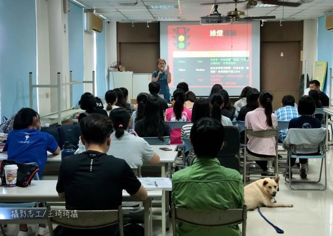圖三、林瑋真獸醫師相關犬貓行為講座