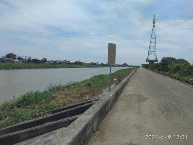 圖一、麻豆區港尾里防汛道路為本案案發現場