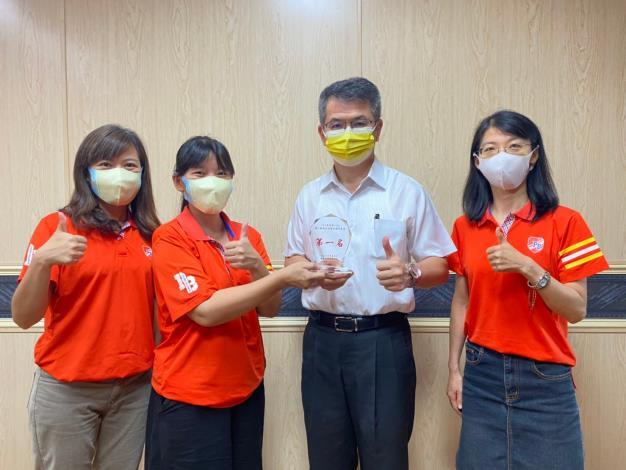 圖1、臺南市動保處參加全國強化動物疾疾病檢診體系會議病例報告榮獲全國第一名