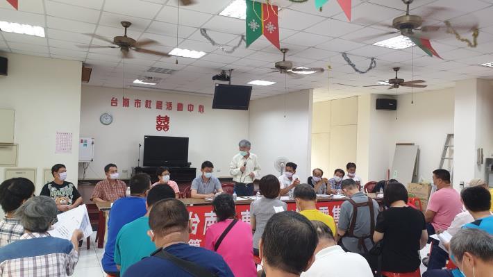 109年9月15日東菜市公有零售市場自行經營說明會1