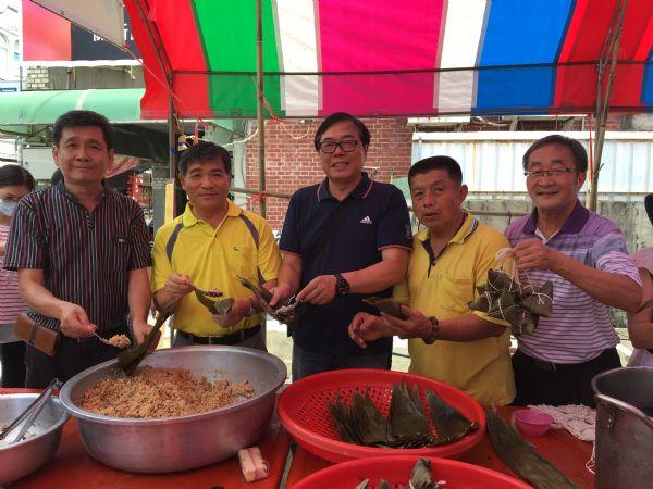 2018年6月10日新化社區營造協會辦理老街粽香野餐宴活動