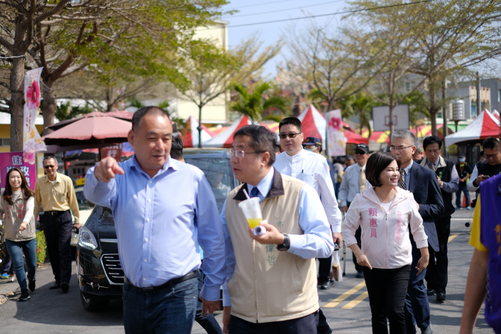 市長及議員參觀蜀葵園區