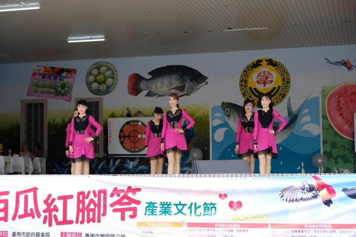 學甲舞動青春有氧舞蹈協會精彩表演