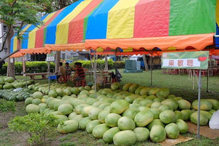 在地瓜農西瓜販售