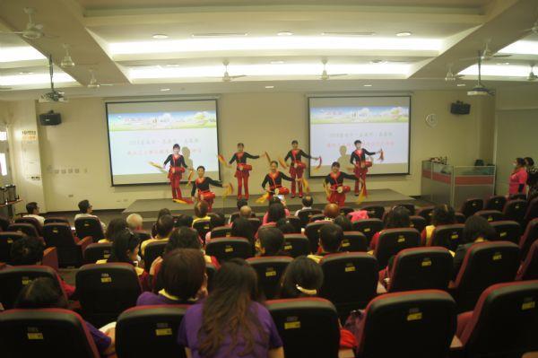 臺南市廉政志工隊推出精彩舞蹈表演