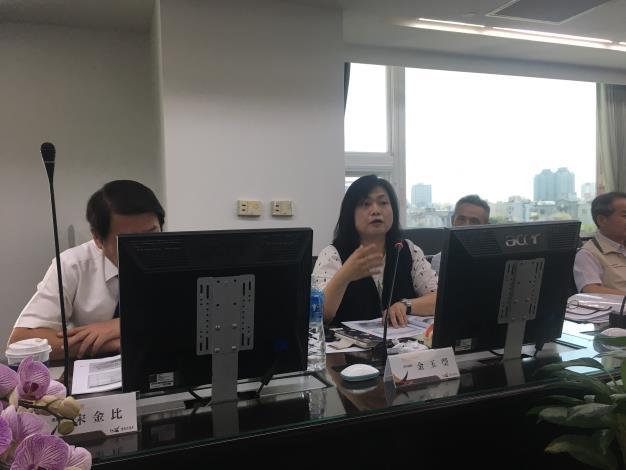 金玉瑩委員發言