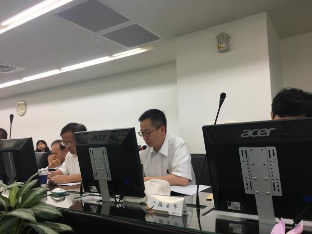 楊永年委員發言
