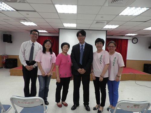 廉政志(義)工與講座--台灣台南地方法院檢察署王聖豪檢察官合影