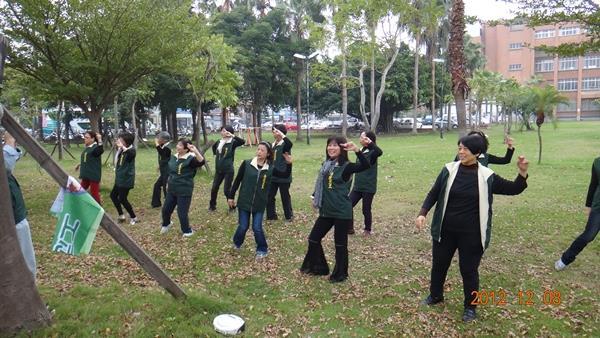 活力蹦蹦跳--由志工隊帶來熱情的開場演出(1)