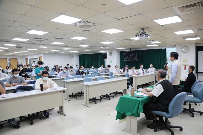 邀集臺南地檢署及23家採購案得標履約業者