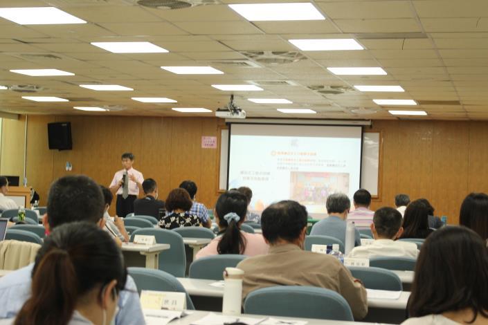 法務部廉政署防貪組葉建華組長主講 「防貪工作重點與趨勢」