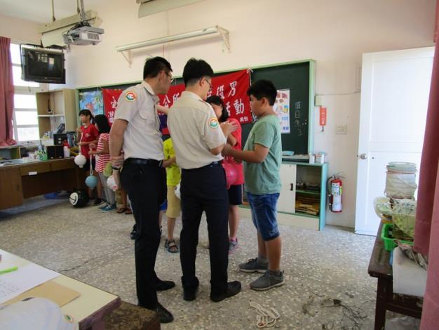 106年替代役役男關懷學童暑期課後照顧活動19