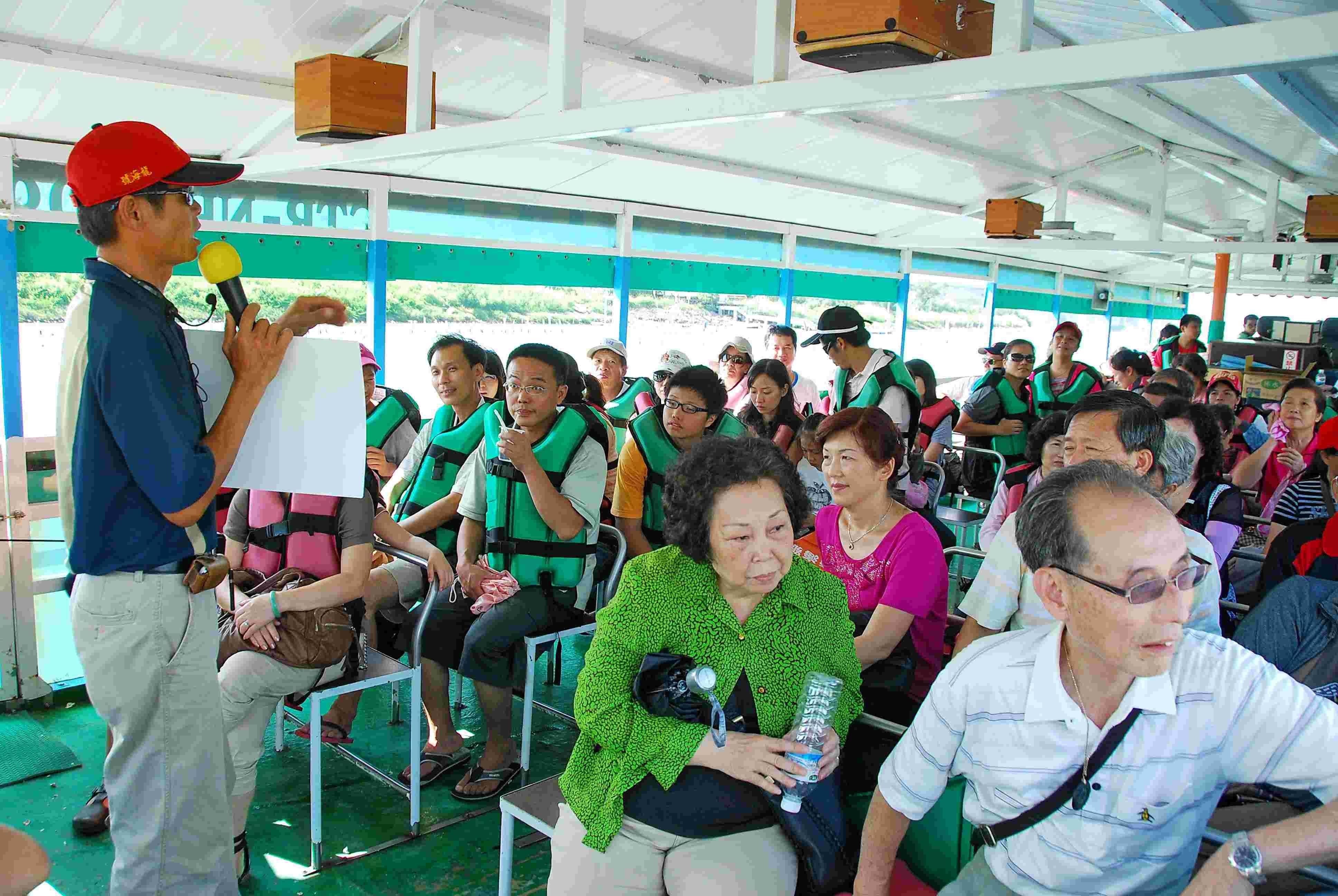 臺南市七股區公所全球資訊網,區內風景景名勝,漁筏遊潟湖介紹。