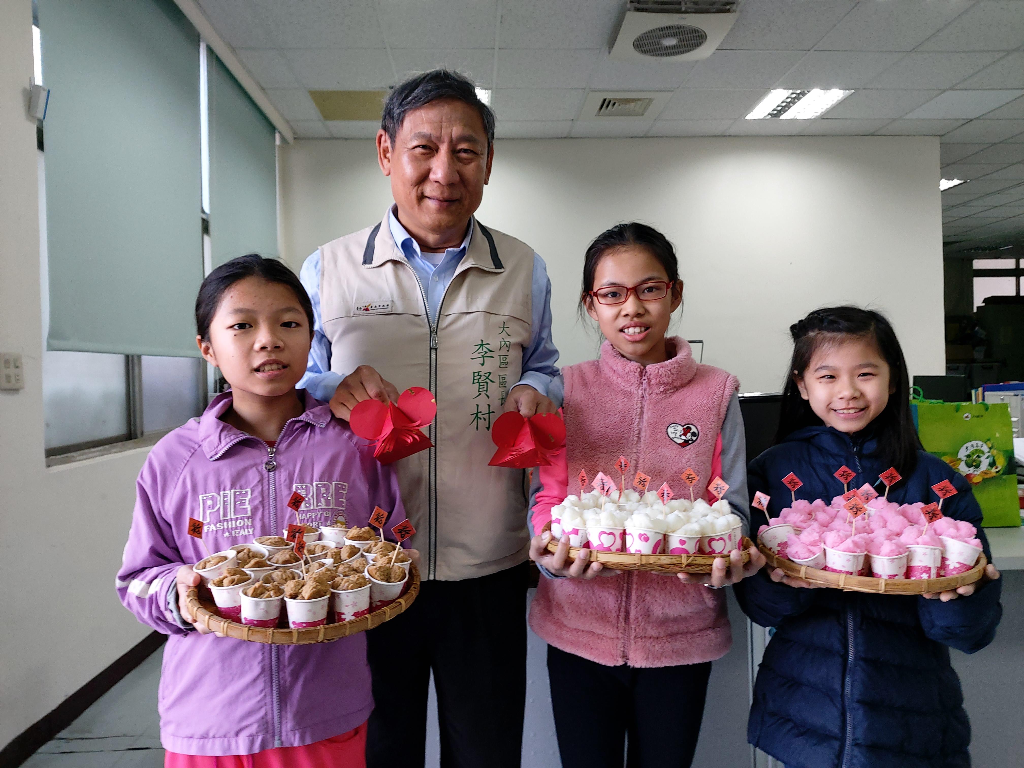 鼠來寶「新春富粿」發送暨政令宣導活動