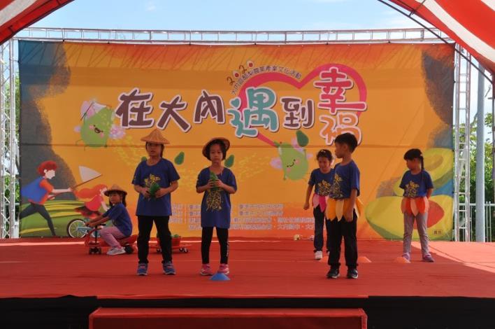 大內國小舞台劇表演酪梨農夫的十二個月